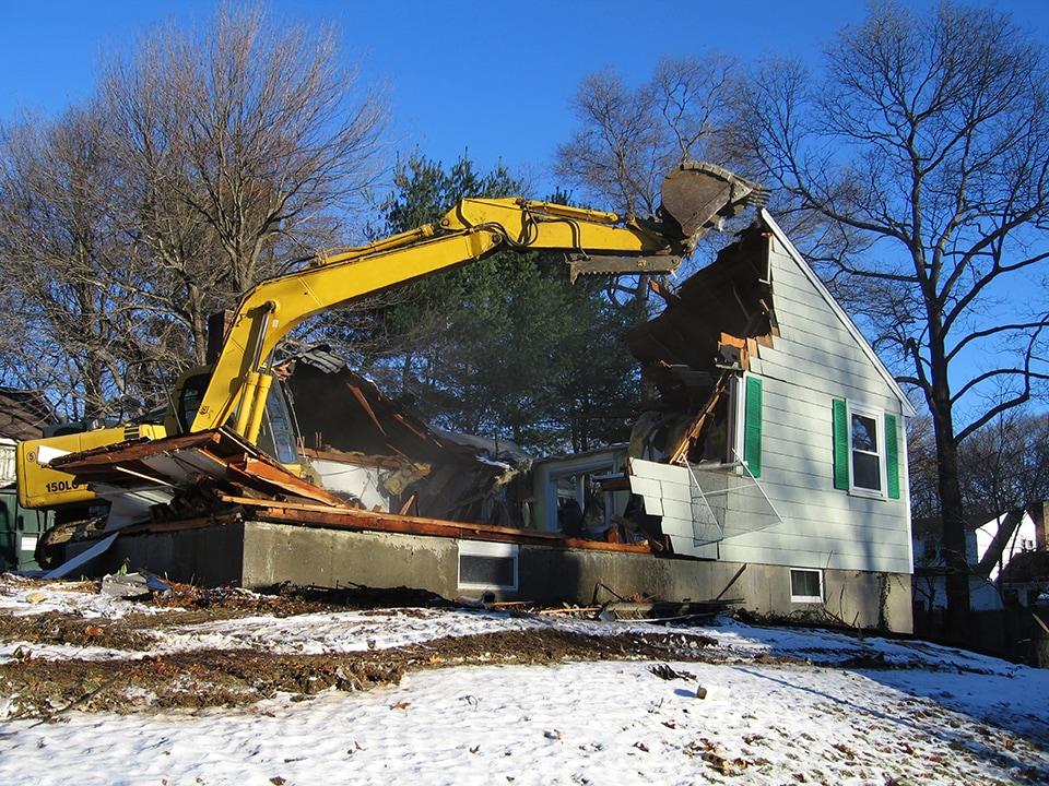 Demolition in Chicago