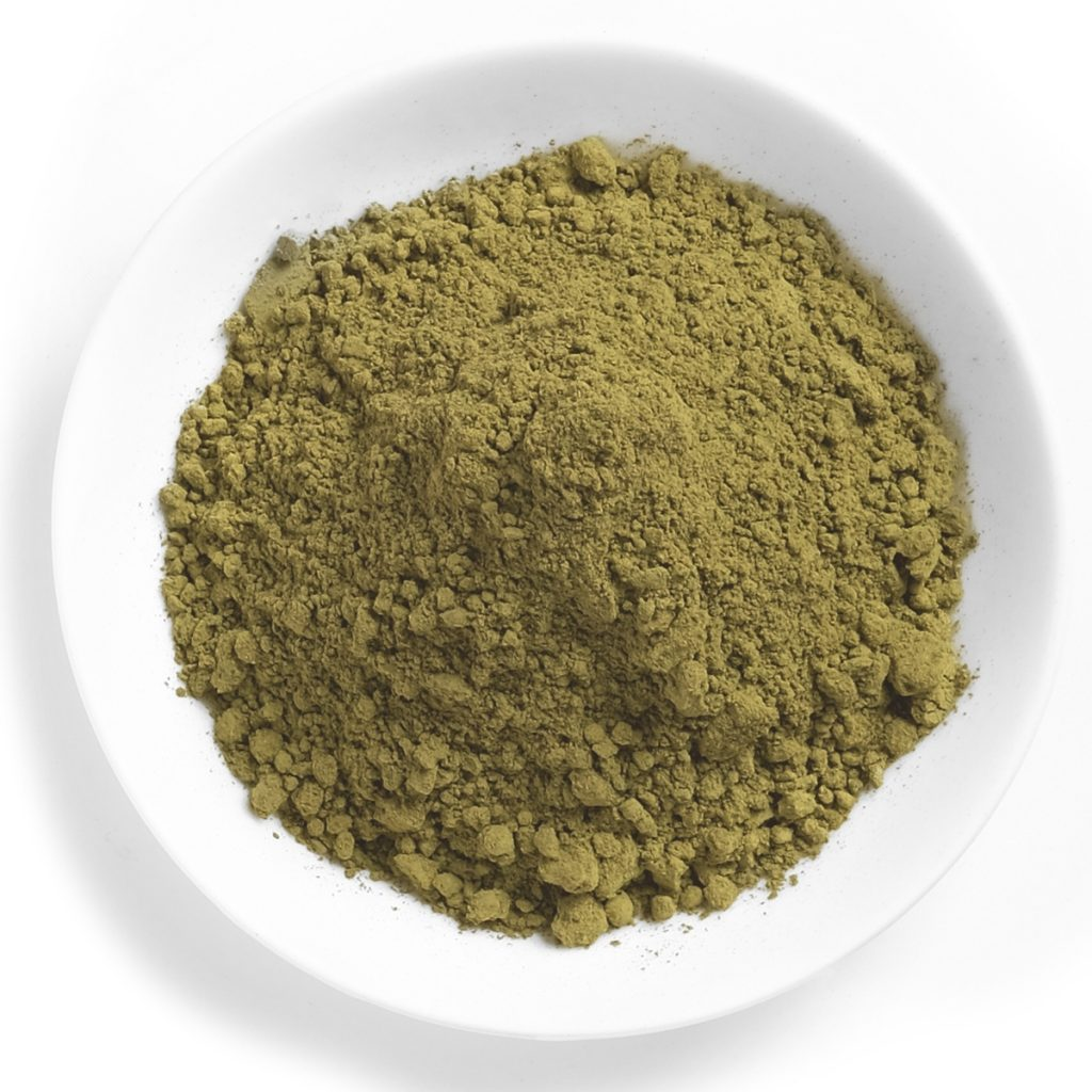 kratom powder structure