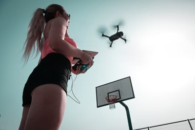Selfie drones Safe