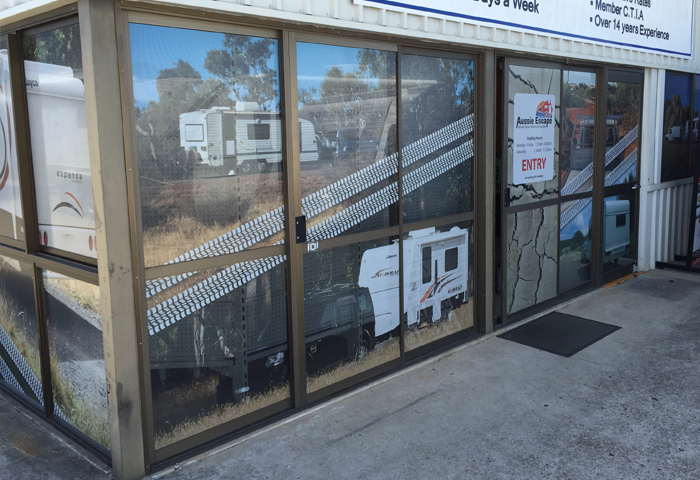 window decal Brisbane